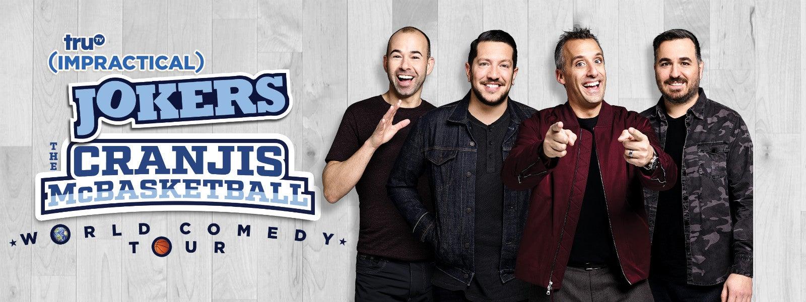 "truTV Impractical Jokers ""The Cranjis McBasketball World Comedy Tour"" Starring The Tenderloins"