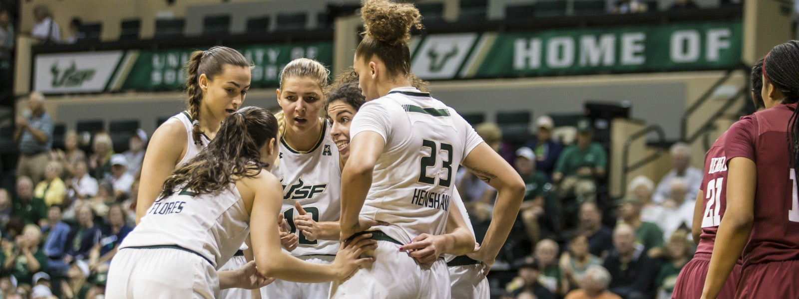 USF Women's Basketball vs. UCONN